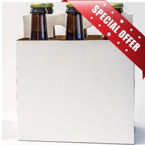 Plain 6 Pack Bottle Carrier